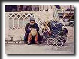 baby carraige, homeless, street person, vagaobond, bum, travel photography, photography, art prints, posters, post cards